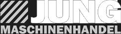 Logo schwarz weiß - Maschinenhandel Jung